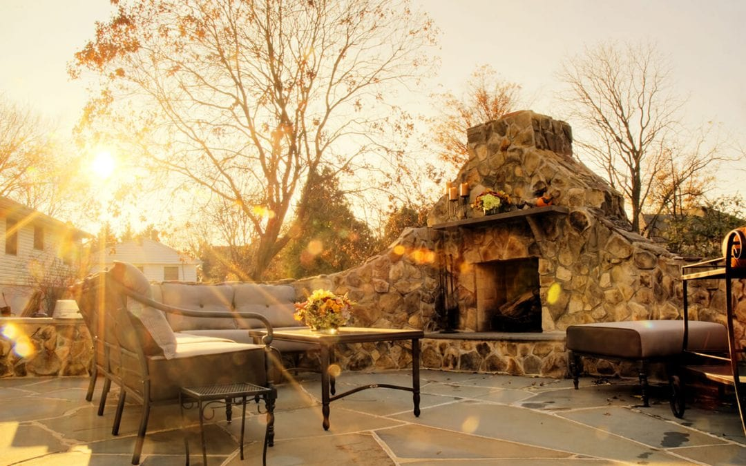 warm up your outdoor living spaces
